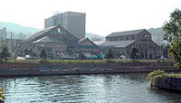 小樽運河の景観壊すマンション