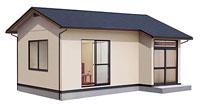 鉄鋼系平屋建小住宅 パーソム
